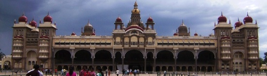 Mysore Palace Top header