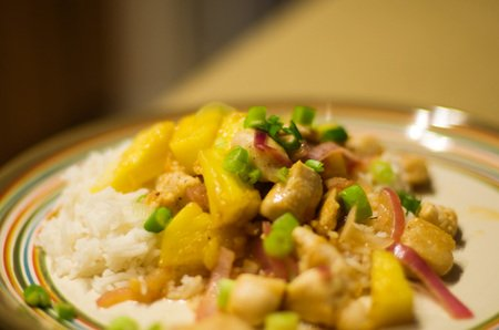 Pinapple chicken recipe, Indian pineapple chicken