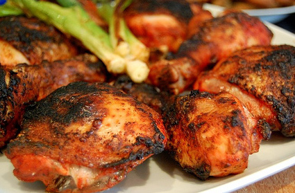 Tandoori Chicken, Indian tandoori chicken recipe