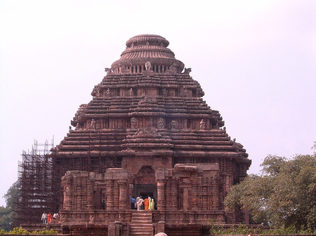 The sun temple, India