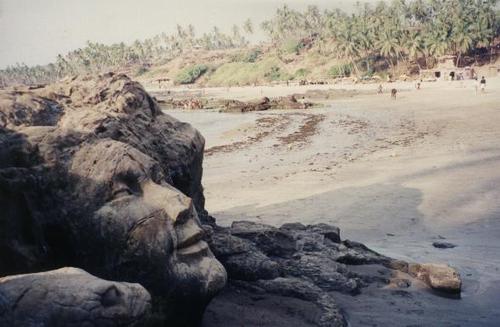 Vagator Rock carving, Shiva