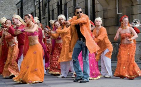 Bollywood dance, scene1
