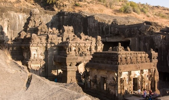 Indian art temples, ellora caves