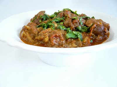 Lamb Rogan Josh, Indian Rogan josh